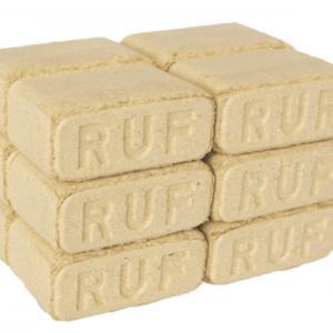 Brikety RUF, bukové brikety, palivo, dřevo